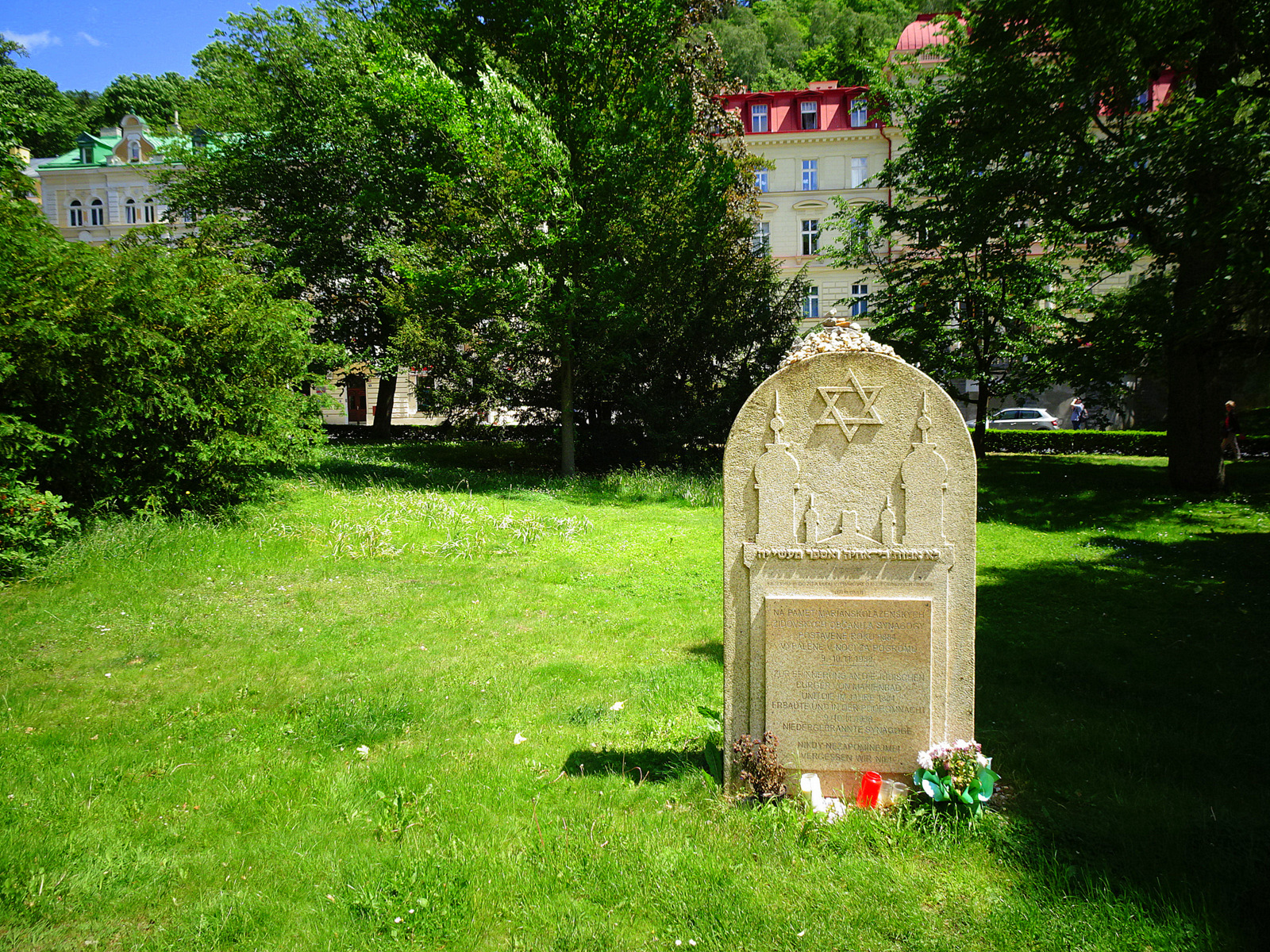 Gedenkstein Synagoge Marienbad.JPG