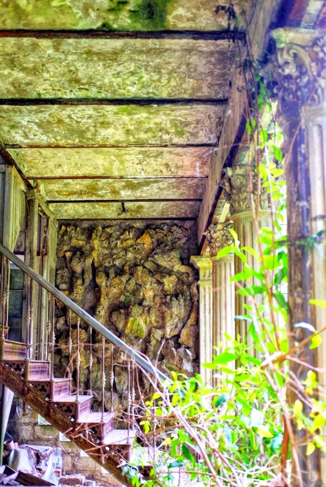 altes Haus Treppe