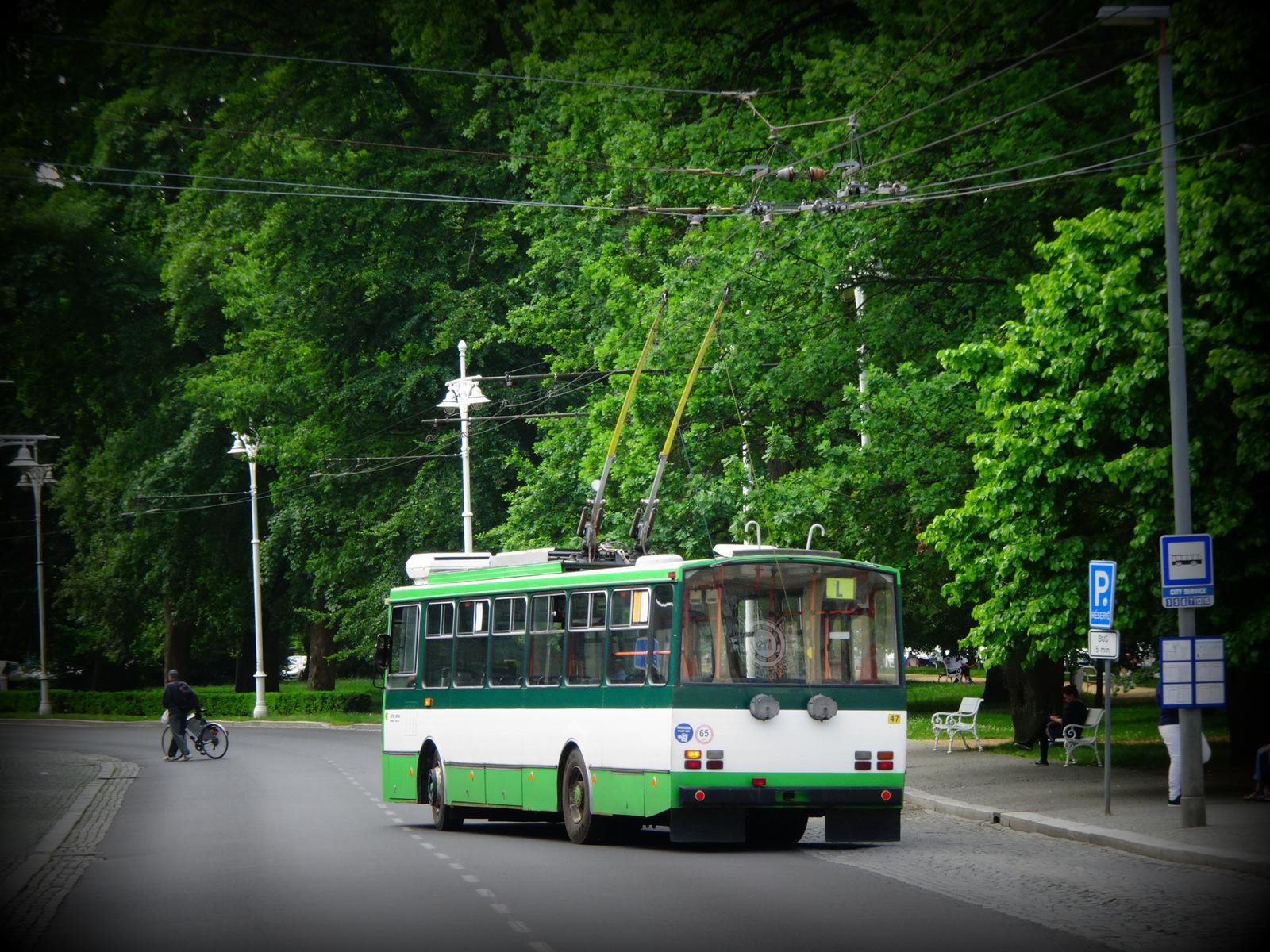 Bus Elektro Marienbad