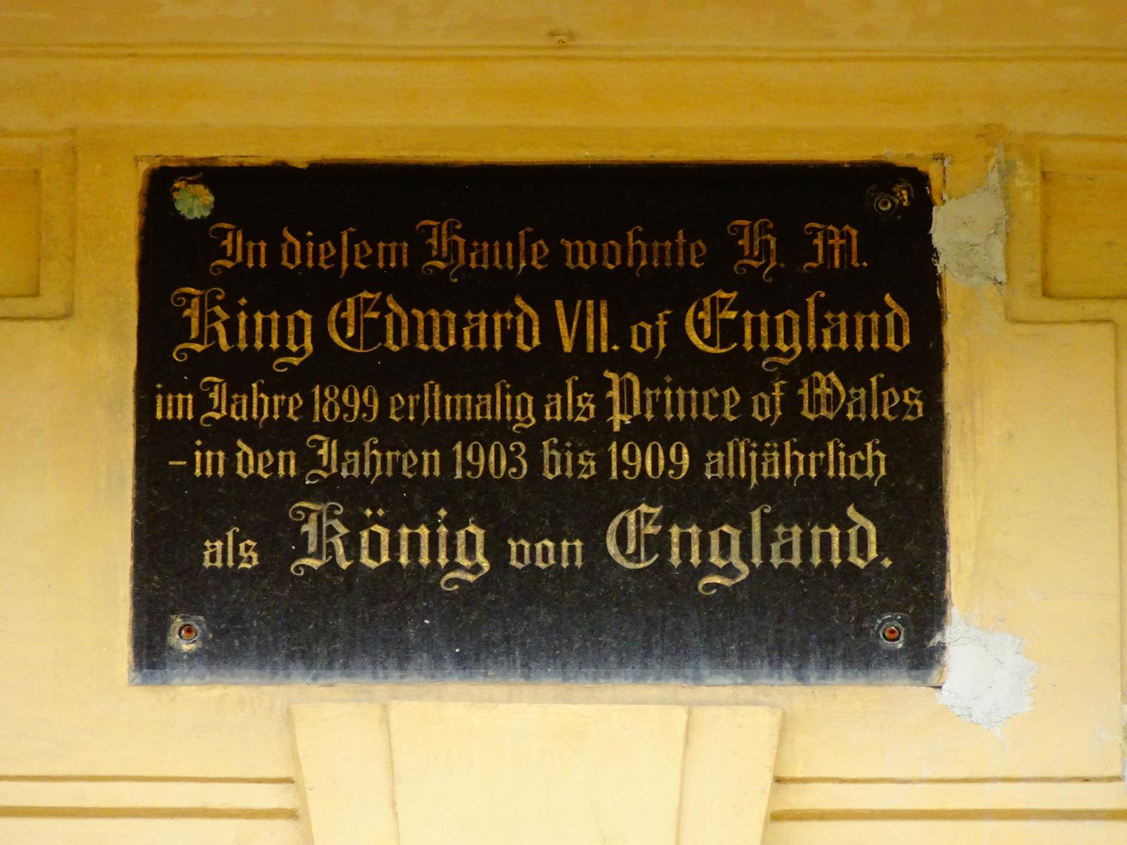 Klebelsberg Edward VII