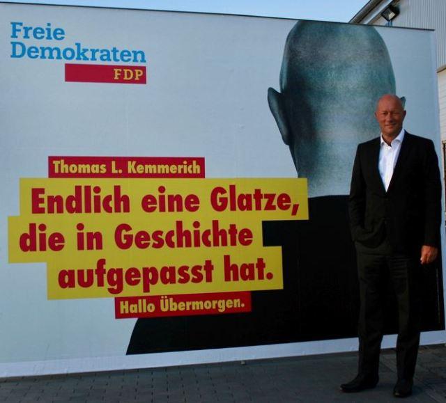 Kemmerich FDP Thüringen in Geschichte aufgepasst