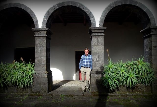 Andreas Moser in Pousada Juventud Pico