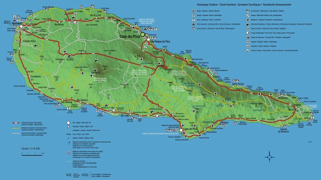 map of Pico