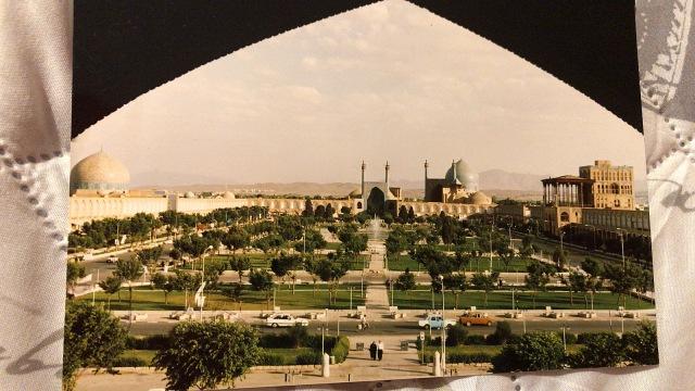 Postkarte aus Isfahan