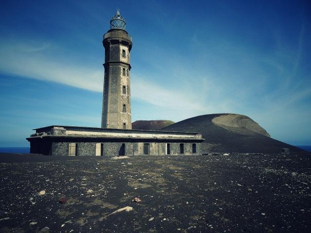 Capelinhos Leuchtturm