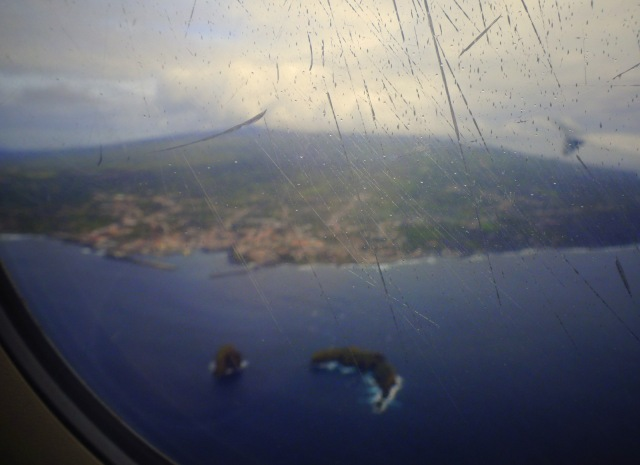 Pico from plane