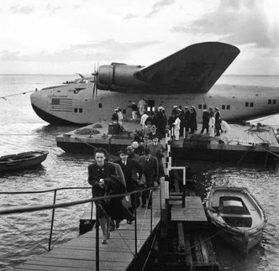 seaplane passengers