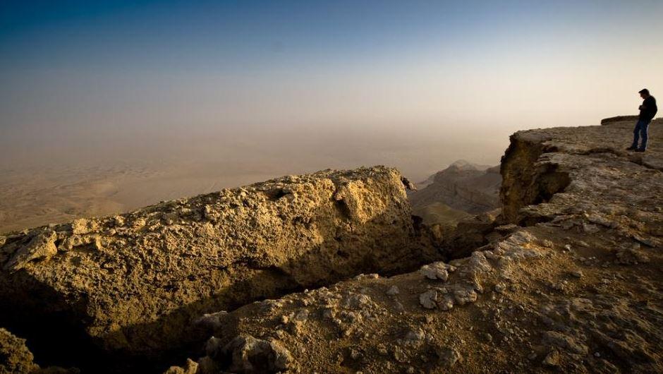 Qattara depression cliff