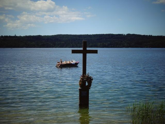 Kreuz für König Ludwig II Starnberger See (1)