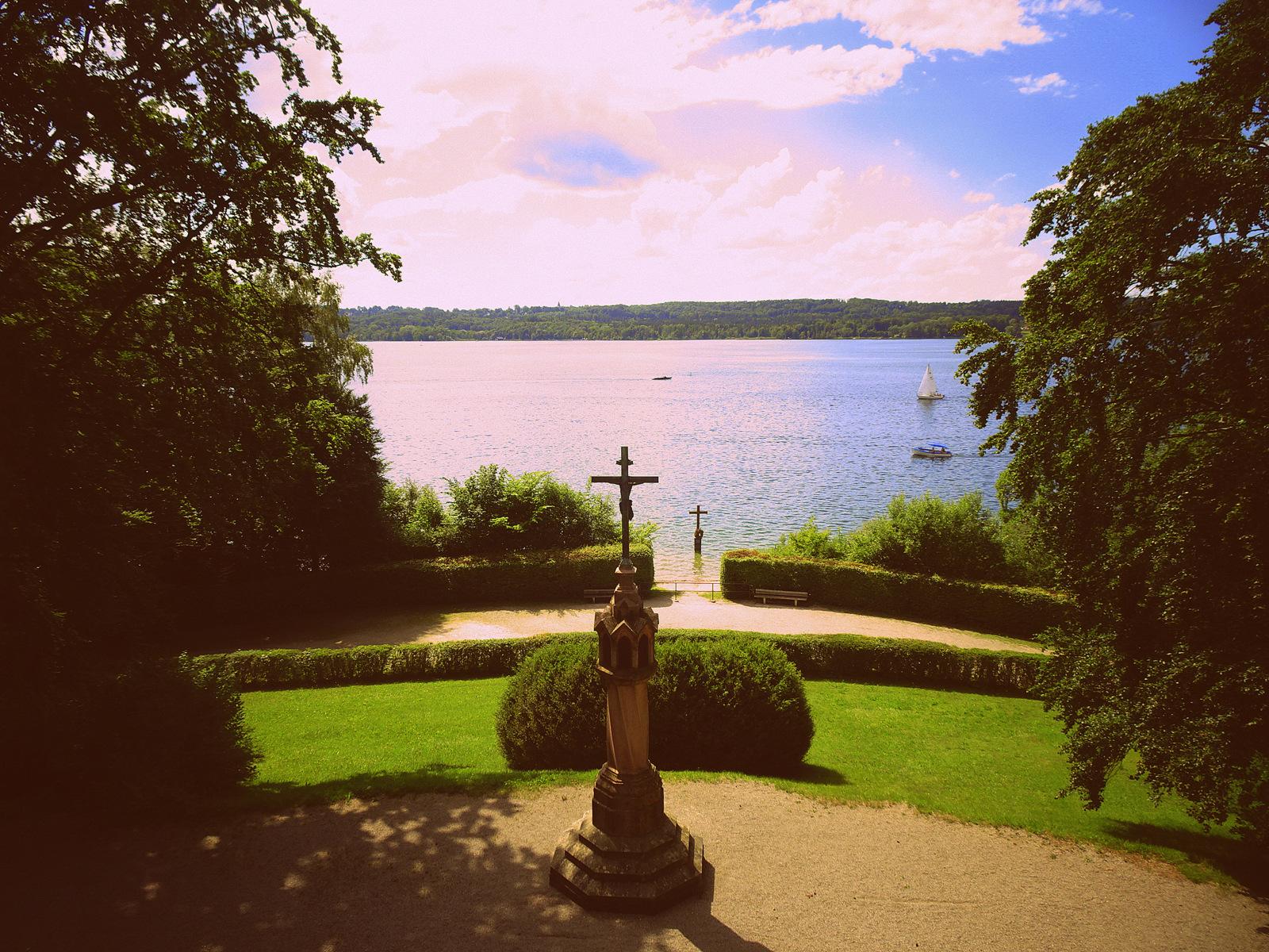 Kreuz für König Ludwig II Starnberger See (2)